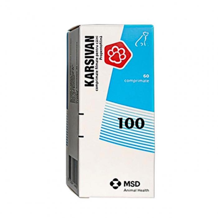 Karsivan 100mg cutie cu 60 tablete 0