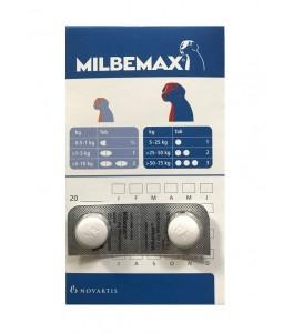 Milbemax Dog 12.5/125mg 5-25kg 2 tablete [2]