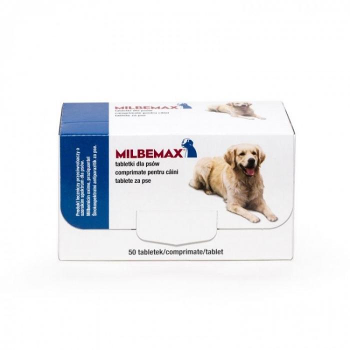 Milbemax Dog 12.5/125mg 5-25kg 2 tablete [0]