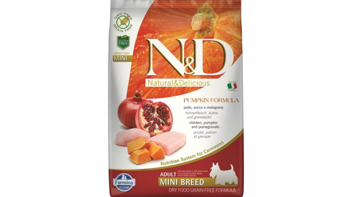 Farmina N&D Dog Grain Free Pumpkin Chicken and Pomegranate 2.5kg 0