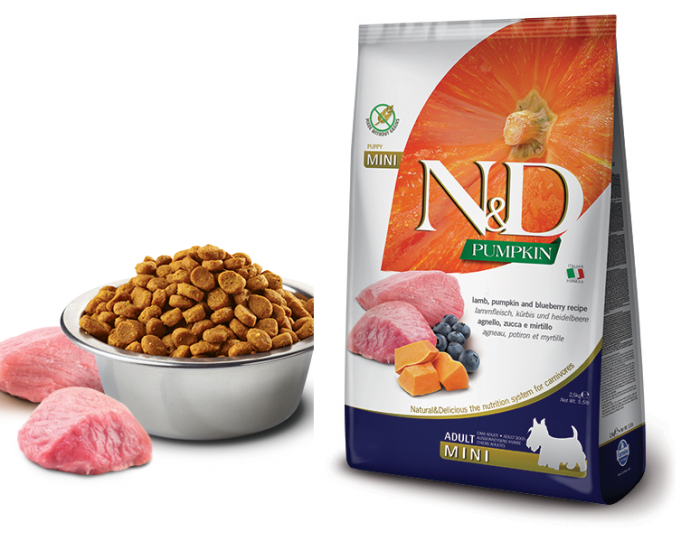 Farmina N&D Dog Grain free Lamb and Blueberry Adult Mini, 7 kg 0