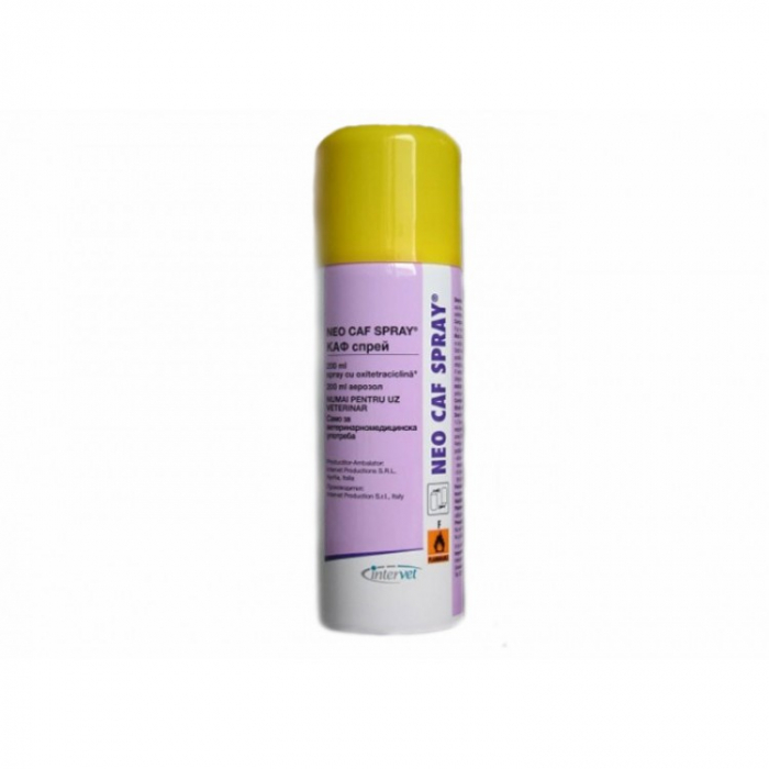 Spray cu antibiotic Neo Spray Caf 200ml 0
