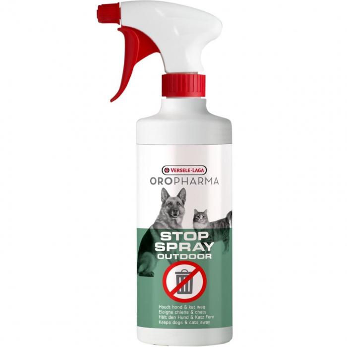 Spray respingator pentru caini si pisici Oropharma Stop Outdoor, 500ml 0