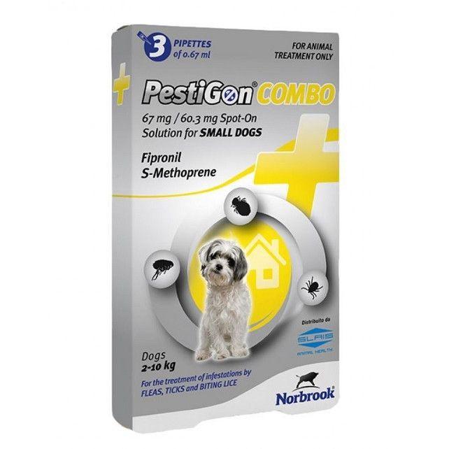Deparazitare externa pentru caini Pestigon Combo Dog S 2-10kg [0]