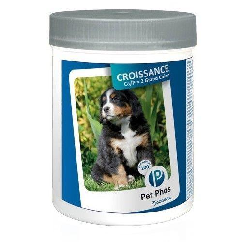 Supliment nutritiv pentru câini Pet Phos Special Grand Chien 100 tbl 0