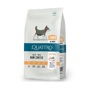 Hrana uscata pentru caini Quattro Junior All Breed Extra Poultry 7kg [0]