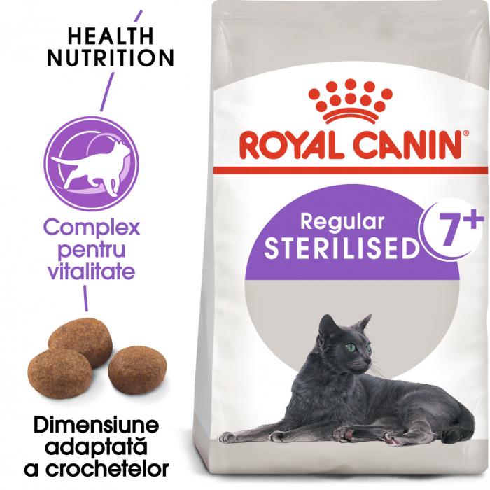 Royal Canin Sterilised 7+ hrana uscata pisica sterilizata senior, 1.5 kg 0