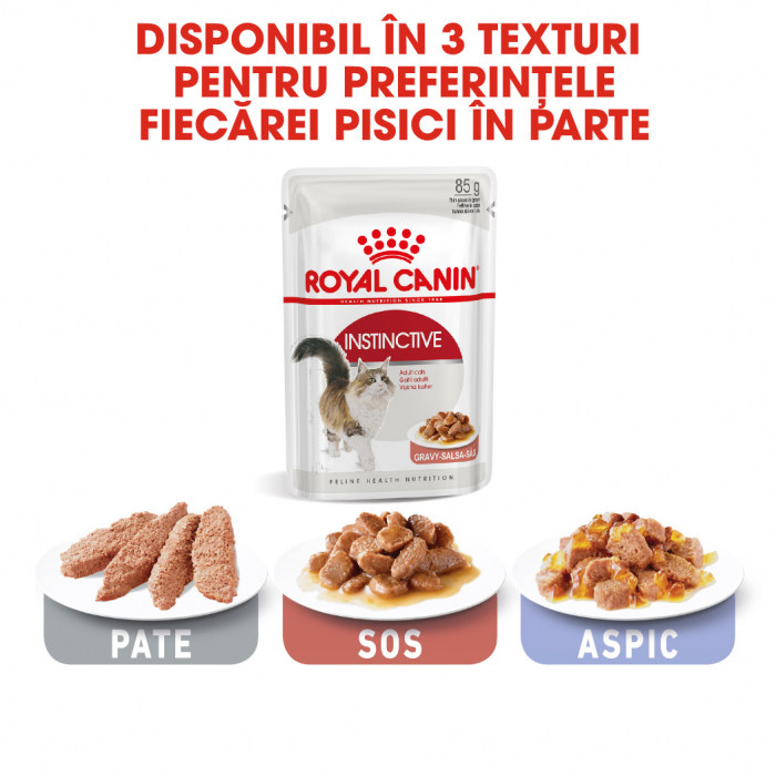 Royal Canin Instinctive In Gravy Adult hrana umeda in sos pentru pisica, 12 x 85 g 5