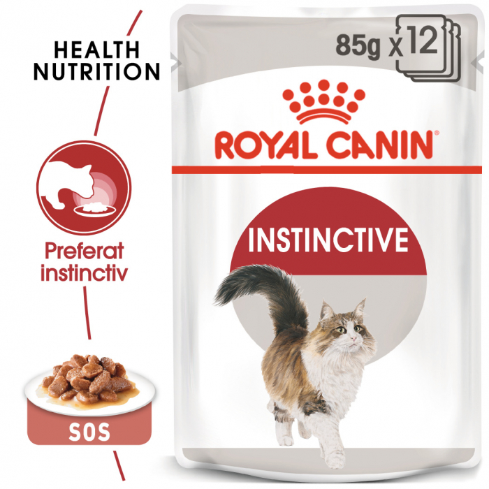 Royal Canin Instinctive In Gravy Adult hrana umeda in sos pentru pisica, 12 x 85 g 0