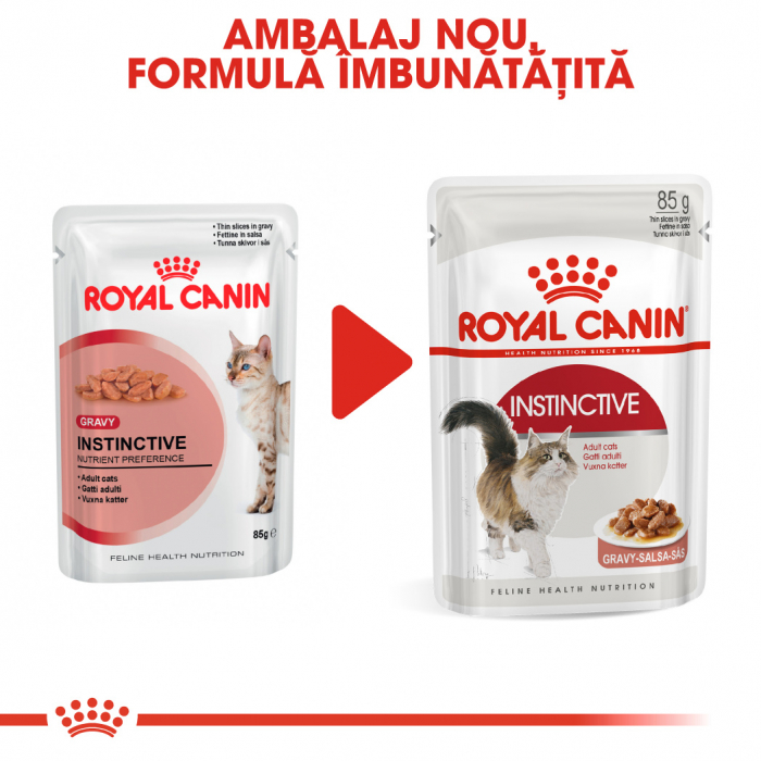 Royal Canin Instinctive In Gravy Adult hrana umeda in sos pentru pisica, 12 x 85 g 6