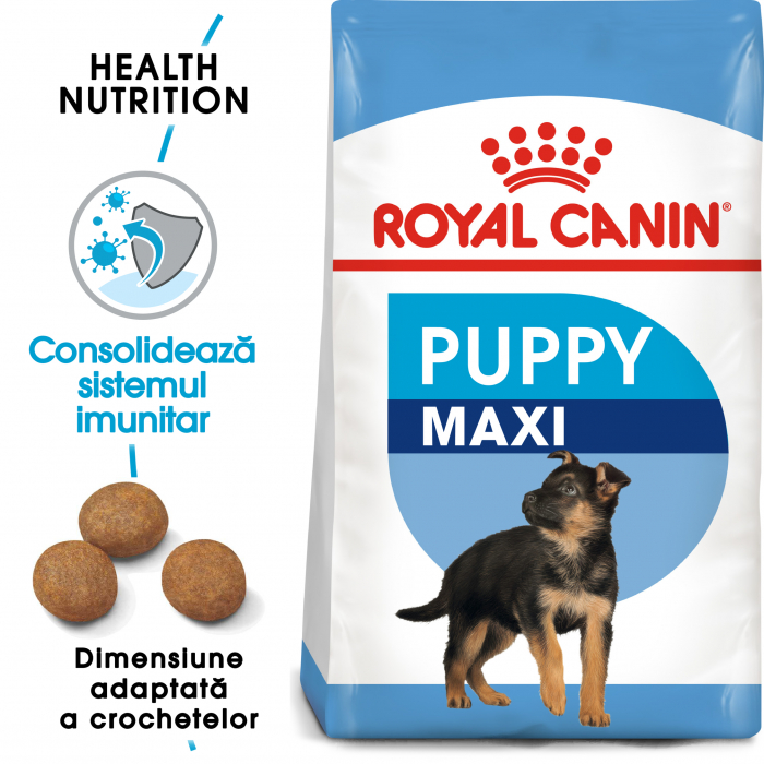 Royal Canin Maxi Puppy hrana uscata caine junior, 4 kg 0