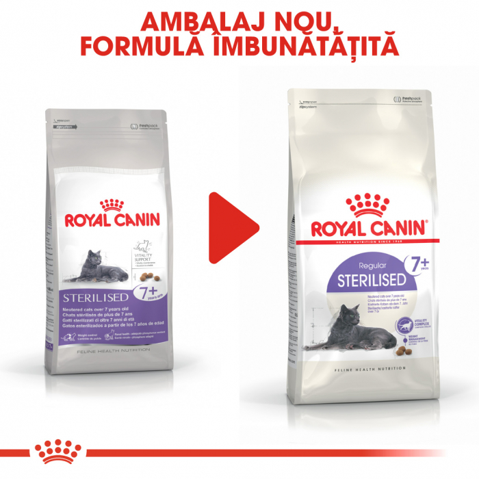Royal Canin Sterilised 7+ hrana uscata pisica sterilizata senior, 1.5 kg 5