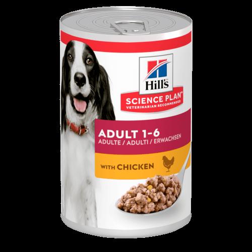HILLS SP Canine Adult Chicken 370g 0