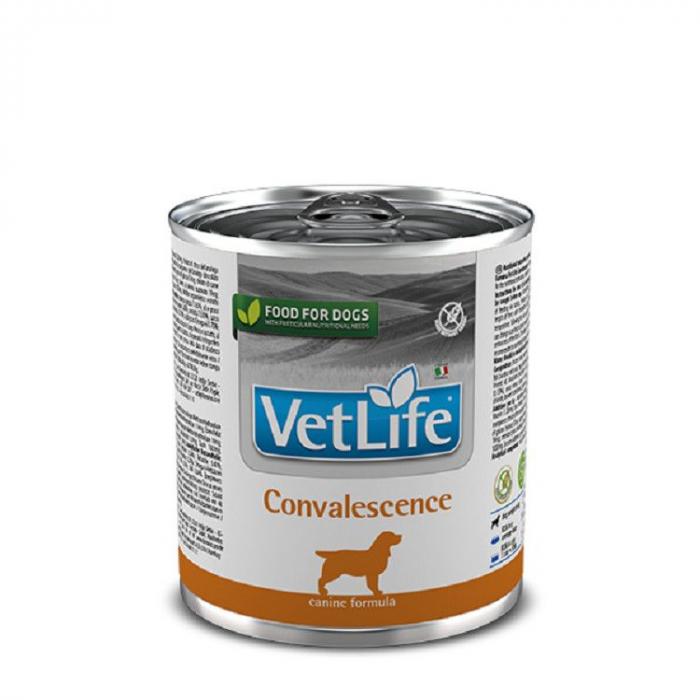 Hrana dietetica pentru caini Vet Life Convalescent conserva 300g [0]