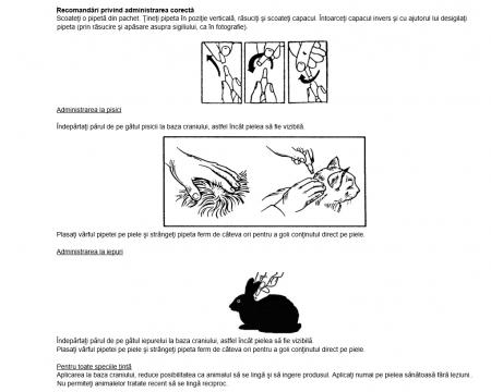 Deparazitare externa pentru pisici si iepuri Advantage 80 4-8kg cutie cu 4 pipete1