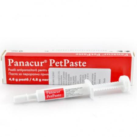 Deparazitare interna pentru caini si pisici Panacur Pet Paste 4,8g