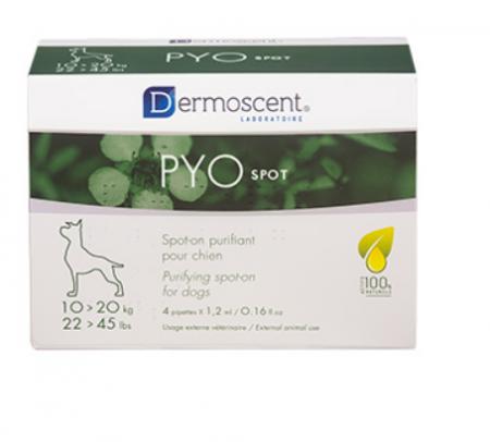 Dermoscent PYOspot Dog 10-20 kg 4 pipete0