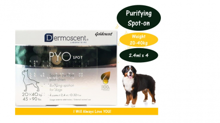 Dermoscent PYOspot Dog 20-40 kg 4 pipete0