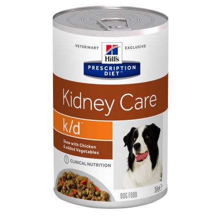 Hill's PD k/d Kidney Care Stew hrana pentru caini cu probleme renale, conserva 354 g [0]