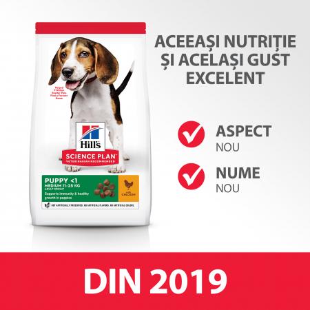 Hill's SP Puppy Medium hrana pentru caini cu pui 14 kg2