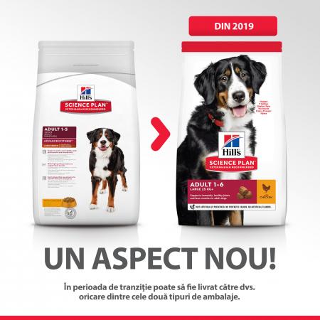 HILLS SP Canine Adult Large 25kg+ cu Pui 14kg [4]