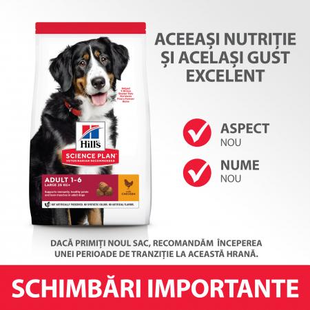 HILLS SP Canine Adult Large 25kg+ cu Pui 14kg [5]