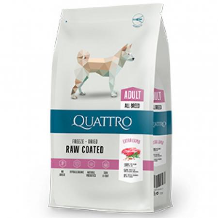 Hrana uscata pentru caini Quattro All Breed Extra Lamb 12kg0
