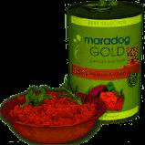 Hrană umedă pentru câini cu carne de vânat și pui - Maradog Gold, conservă 400 g [1]