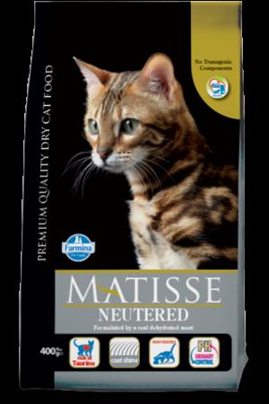 Hrana uscata pentru pisici Matisse Neutered 10kg0
