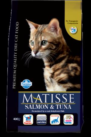 Hrana uscata pentru pisici Matisse Salmon and Tuna 10 kg [0]