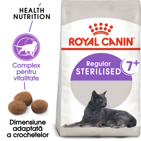 Royal Canin Sterilised 7+ hrana uscata pisica sterilizata senior, 1.5 kg0