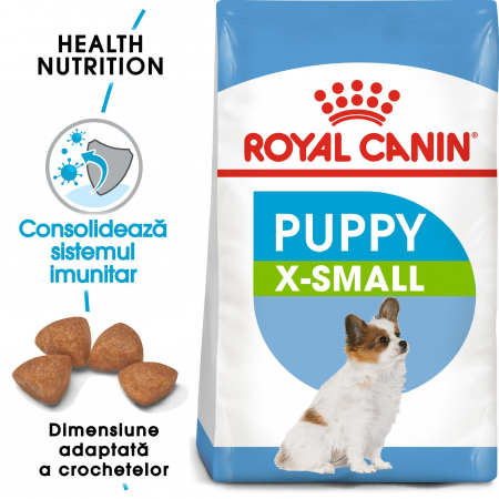 Royal Canin X-Small Puppy hrana uscata caine junior,  1.5 kg0