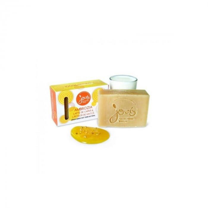 Ambrozia - sapun cu lapte de capra si laptisor de matca [0]