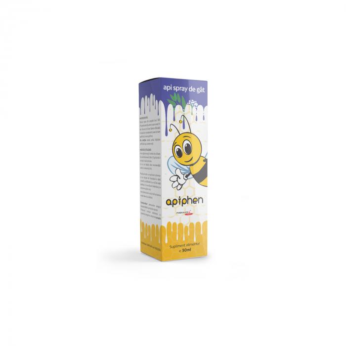 Apiphen Api spray de gat 30ml [0]