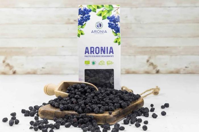 Aronia fructe ecologice deshidratate 200g [1]