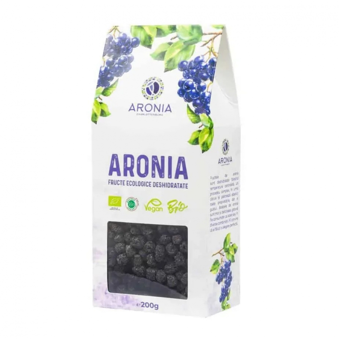 Aronia fructe ecologice deshidratate 200g [0]