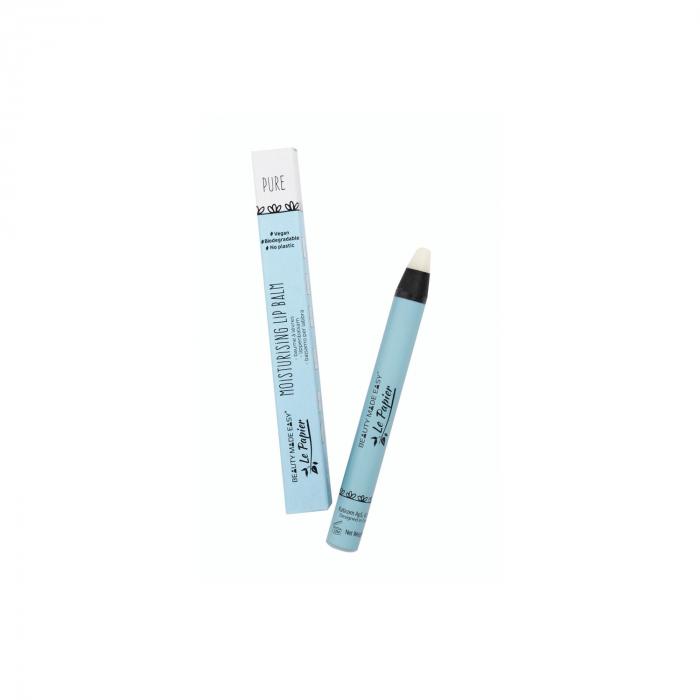 Balsam hidratant de buze, pure, zero plastic, 6 g [0]