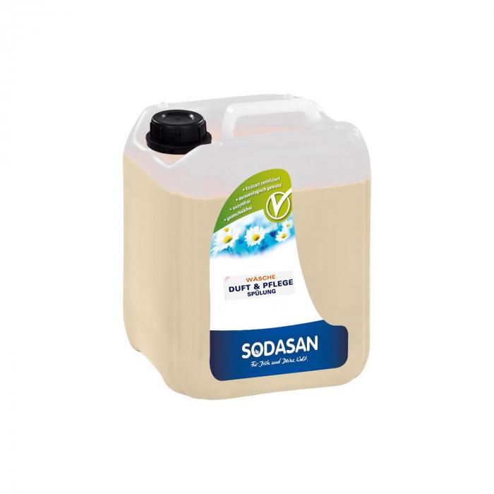 Balsam si parfumant BIO cu magnolie pentru rufe 5l Sodasan [0]