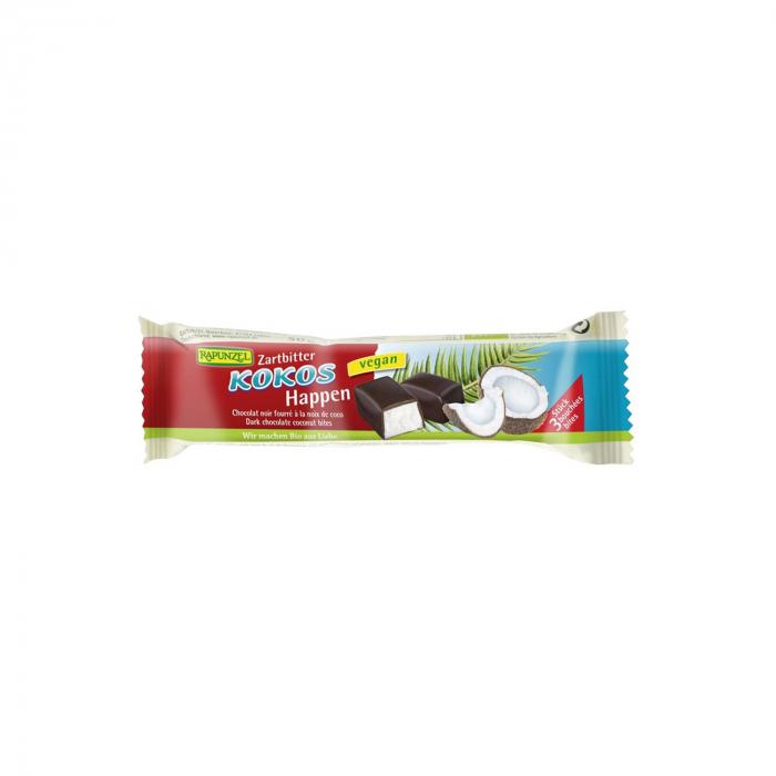 Baton de cocos cu glazura amaruie Rapunzel 50g [0]