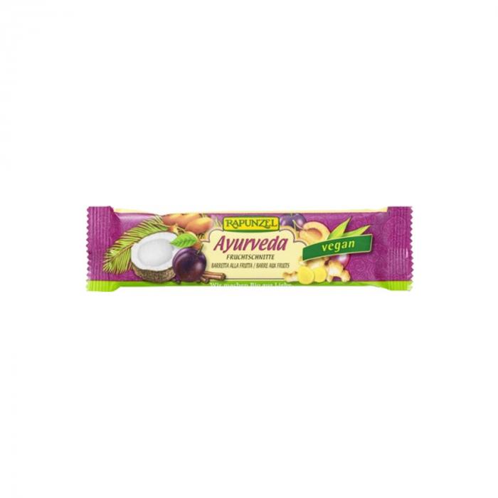 Baton de fructe Ayurveda Rapunzel 40g [0]