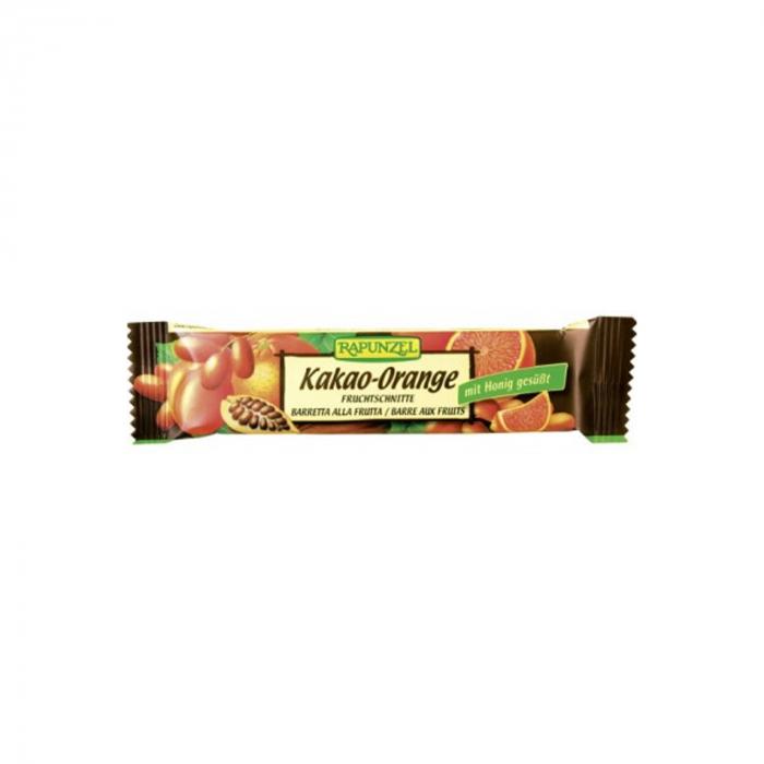 Baton de Fructe cu Cacao si Portocale BIO Rapunzel 40g [0]