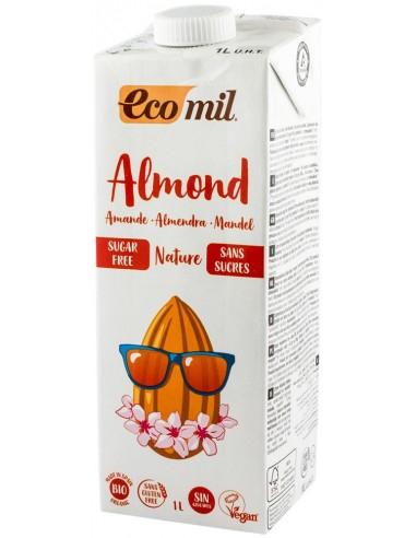 Bautura Bio natur de migdale, fara zahar, 1 l Ecomil [0]