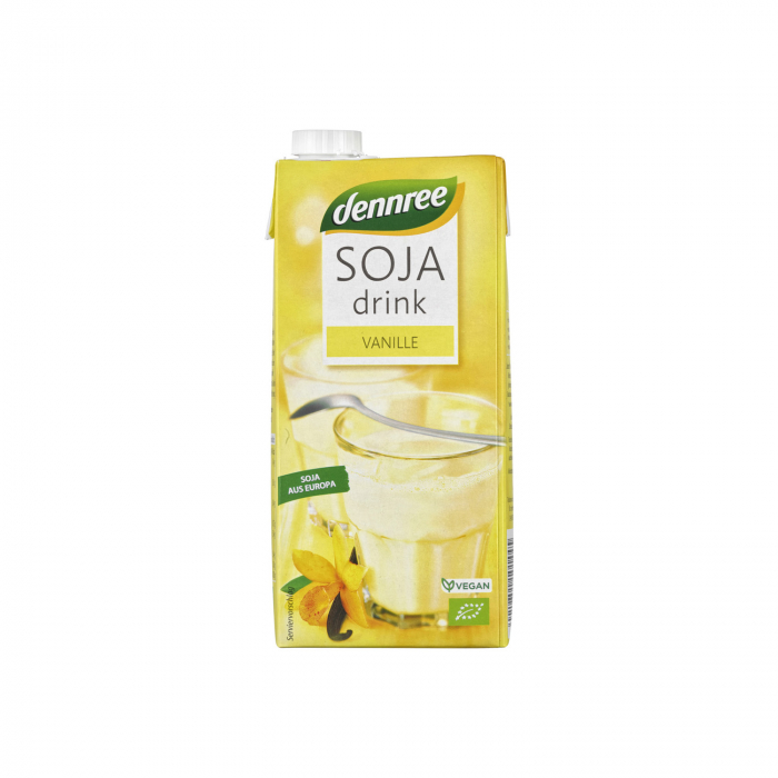Bautura de soia BIO cu vanilie Dennree 1l [0]