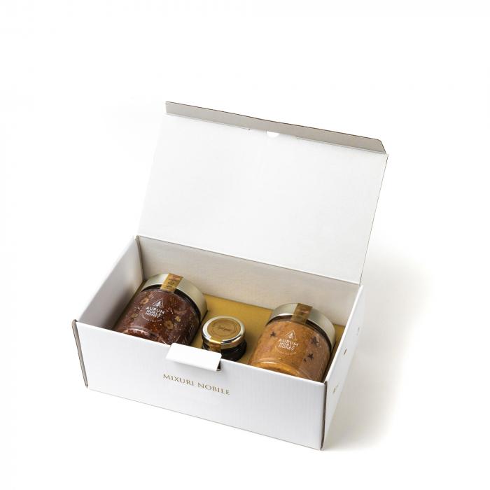 Pachet Mix delicatese din miere cruda 2+1 630g [0]