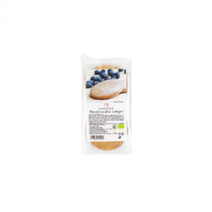 Biscuiti cu crema de afine ECO 175g Longevita [0]