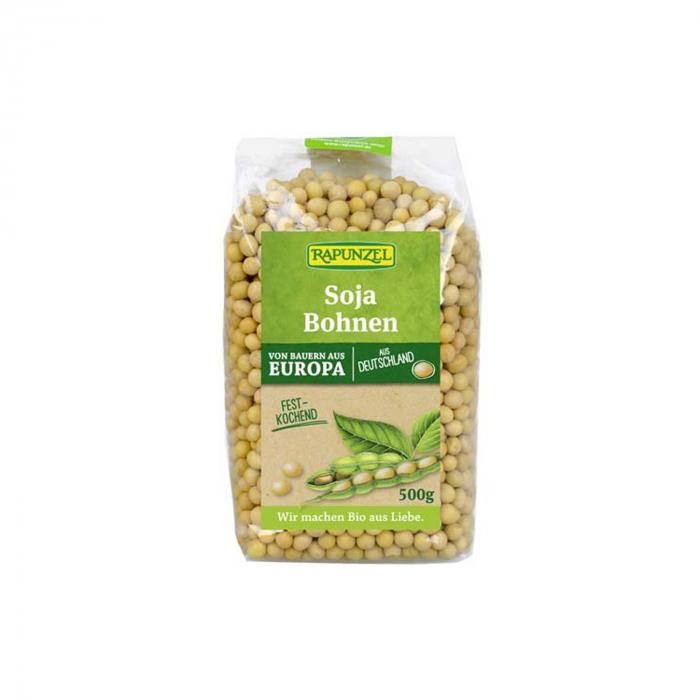 Boabe de soia BIO Rapunzel 500g [0]