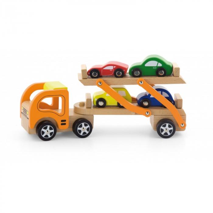 Camion transportor cu 4 masinute [3]