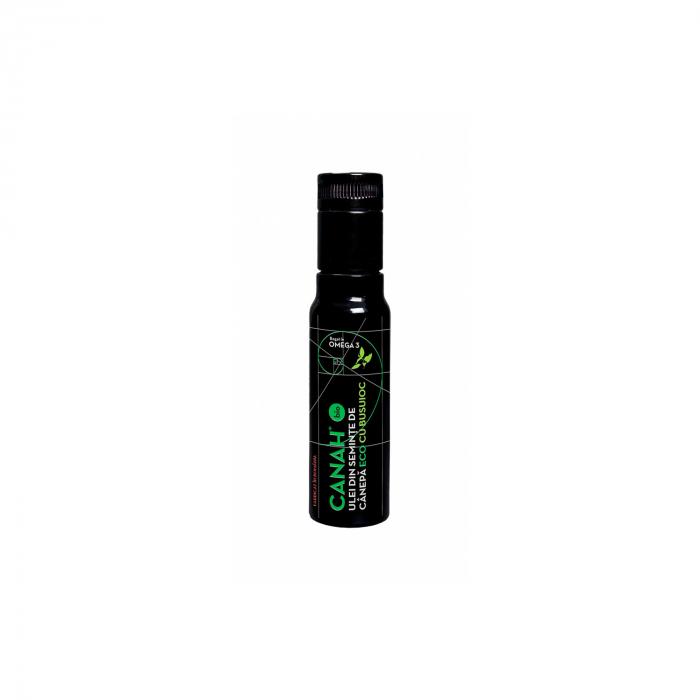 Canah hemp oil basil ECO 100ml (ulei canepa cu busuioc)  [0]
