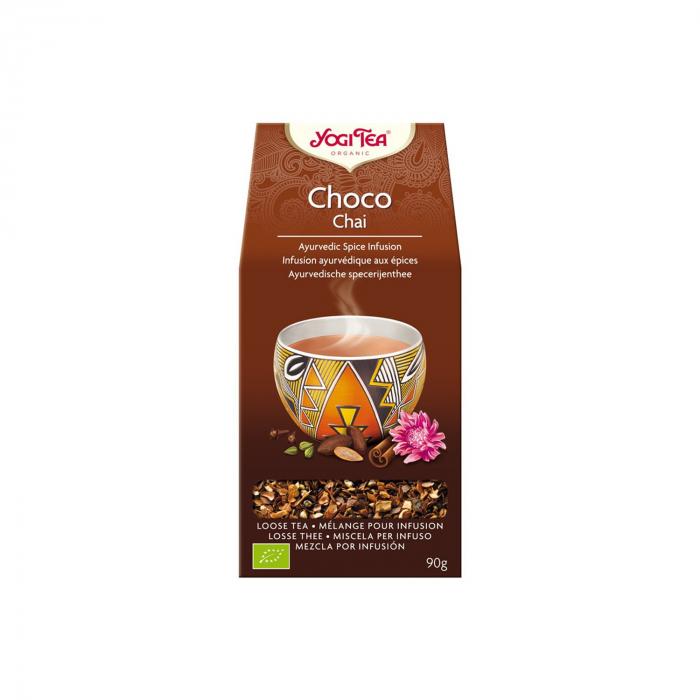 Ceai BIO choco vrac 90g Yogi Tea [0]