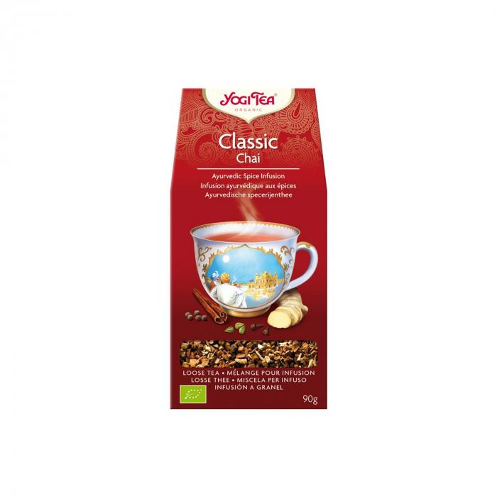Ceai BIO classic chai 90g Yogi Tea [0]
